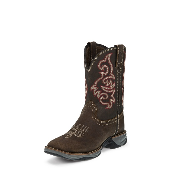 Image for SPINDLETOP BROWN boot; Style# LL550