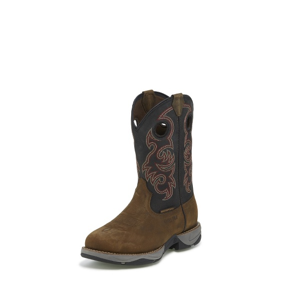 Image for JUNCTION BLACK ROUND TOE boot; Style# RR3355