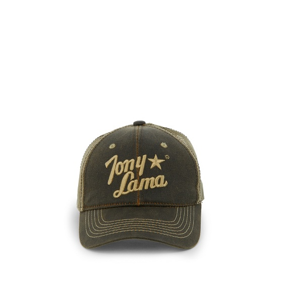Image for TONY LAMA CAP-BROWN W/MESH BACK ; Style# TCBC018BR