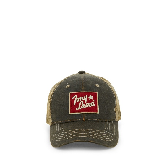 Image for TONY LAMA CAP-BROWN W/MESH BACK ; Style# TCBC507BR