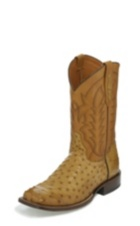 Image for SUNTAN FULL QUILL OSTRICH boot; Style# TL5351