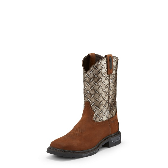 Image for DIBOLL DIAMOND PLATE COMP TOE boot; Style# TW4022