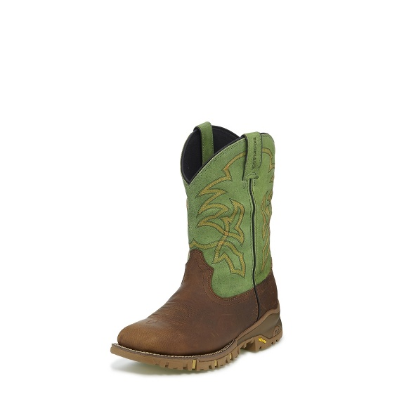 Image for ROUSTABOUT GREEN WATERPROOF boot; Style# TW5009