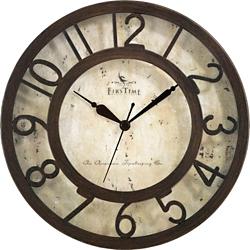 "Raised Number 8"" Wall Clock, 86432"