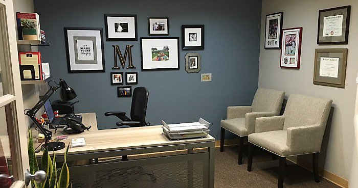 Office Tour: Michael's Calm, Contemporary Workspace Office Tour | NBF Blog