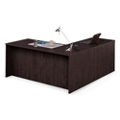 "Solutions Compact L-Desk with Left Return - 66""W, 10063"