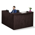 "Formation Reversible Reception L-Desk with Full Pedestal - 71""W, 16149"