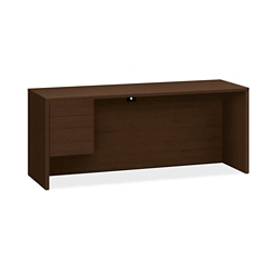 "Credenza with Left Pedestal - 72""W, 14554"