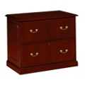 Traditional Two Drawer Lateral File, 10589