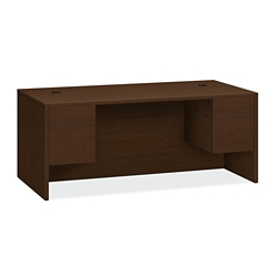 "Executive Desk with Pedestals - 72""W, 14545"