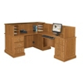 Reception Desk with Right Return, 10865