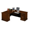 Traditional L-Desk with Right Return, 10963