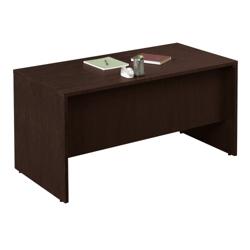"""60""""W x 30""""D Compact Double Pedestal Desk, 10966-1"""