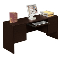 "Kneehole Credenza - 66"" Wide, 10969-1"