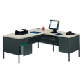 Steel L-Desk with Right Return, 11243