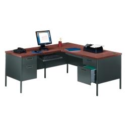Steel L-Desk with Left Return, 11244