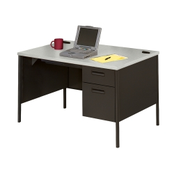Single Pedestal Desk 4' Wide, 11245