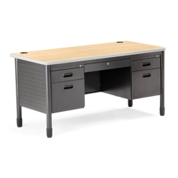 "60"" Double Pedestal Desk, 11322"