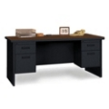 "Double Pedestal Desk - 60"" x 30"", 11951"