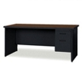"Single Pedestal Desk - 66"" x 30"", 11954"