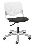 Figo Task Chair with Fabric or Polyurethane Seat, 56082