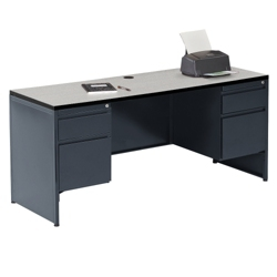 metal office desk | shop executive steel frame desks with storage