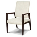 Vinyl Patient Chair with Faux Wood Frame, 26540