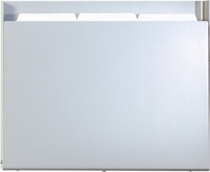 HIPAA-Compliant One Pocket Steel Chart Holder, 26497