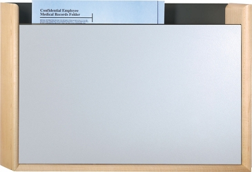 HIPAA-Compliant One Pocket Steel Front Chart Holder, 26499