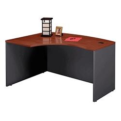 Bow Front Left L-Desk Shell, 13140