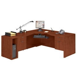 Angled L Desk Left Return, 13148