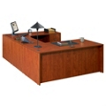 "U Desk with Right Bridge - 71"" x 118"", 14303"