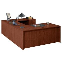 """U Desk with Right Bridge - 71""""x106"""", 13154"""
