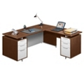 Flush-Top L-Desk, 13176