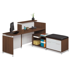 Reception Hi-Low L-Desk, 13339