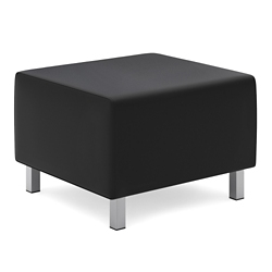Ottoman in Bonded Leather, 76498