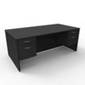 "Double Pedestal Executive Desk - 72""W x 36""D, 13651"