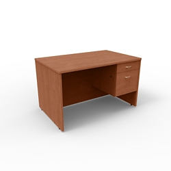 "Single Pedestal Compact Computer Desk - 48""W x 30""D, 13655"