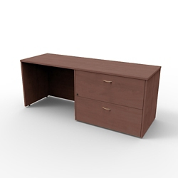 "Right Lateral File Credenza - 72""W x 24""D, 13666"