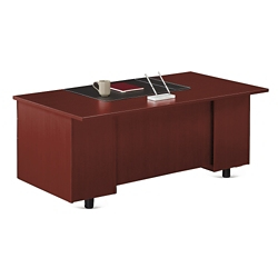 "Ascend Double Pedestal Executive Desk - 72""W, 13850"