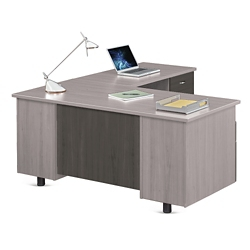 """Ascend L-Desk with Right Return - 66""""W, 13866"""