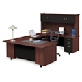 Ascend Right Bridge U-Desk with Hutch, 13872
