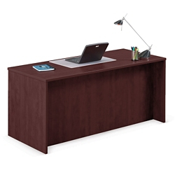 """Solutions Compact Double Full Pedestal Desk - 60"""" x 30"""", 13990"""