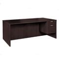 "Solutions Right Pedestal Desk with Three Quarter Pedestal - 48""W, 13998"