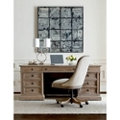 Double Pedestal Executive Desk and Chair Set, 14322