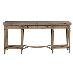 "Sofa Table with Expandable Flip Top - 68""W, 53061"