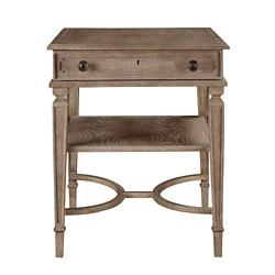 "Single Drawer End Table - 24""W, 53062"