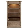 "Four Shelf Lateral File Bookcase - 80""H, 32147"