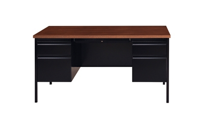 "Double Pedestal Desk - 60""W, 14149"