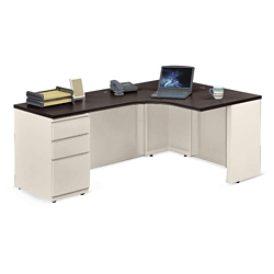 Metal Office Desk | Shop Executive Steel Frame Desks with Storage ...